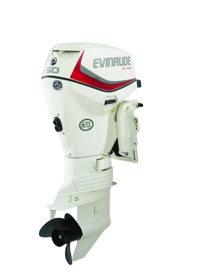 View large image: 2019 Evinrude E50DSL
